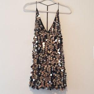 Sexy Seqin mini dress